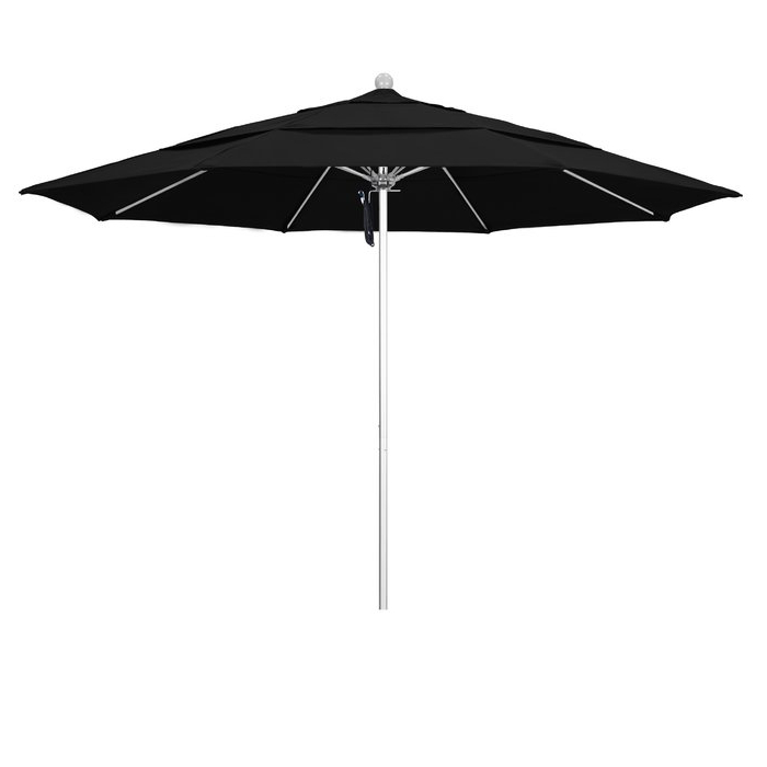 Caravelle Market Sunbrella Umbrellas Throughout Recent Caravelle 11' Market Sunbrella Umbrella (View 10 of 25)