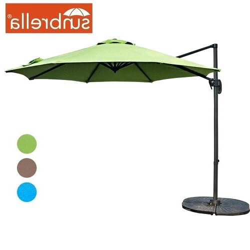 Carlisle Cantilever Sunbrella Umbrellas For Well Known Sunbrella Cantilever Umbrella – Blairsindelar (View 9 of 25)