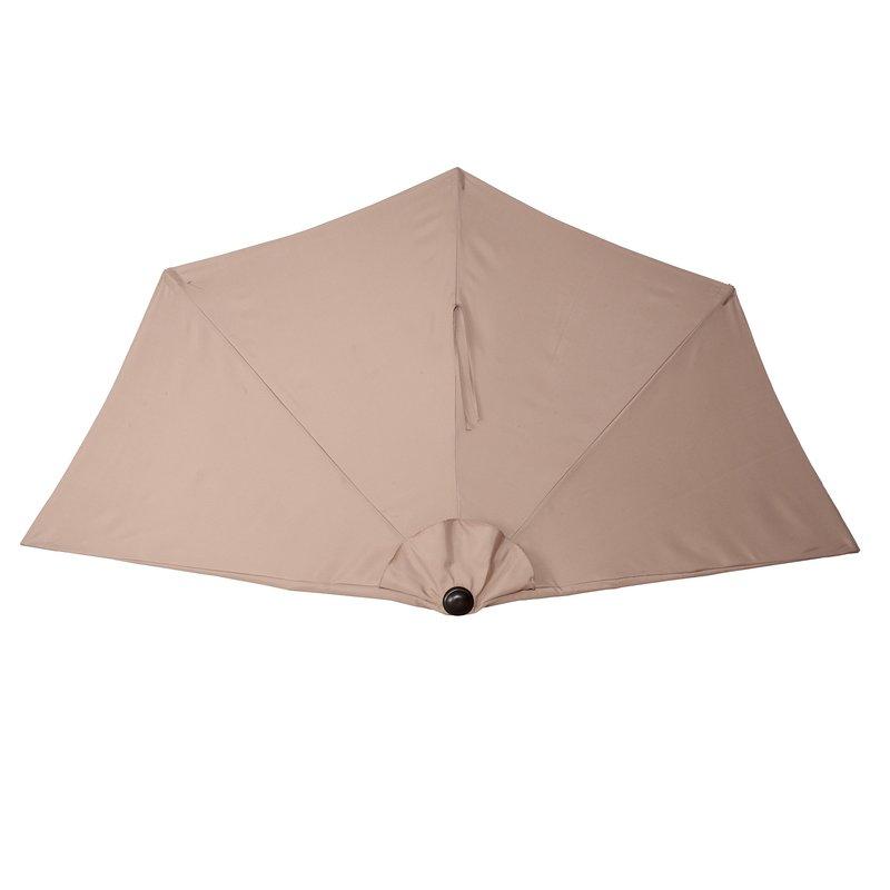 Colburn Half Market Umbrellas Within Most Recently Released Colburn Half 9' Market Umbrella (View 4 of 25)