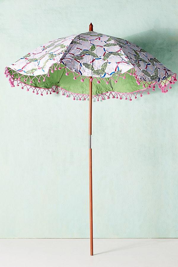 Colloquial Beach Umbrella In  (View 14 of 25)