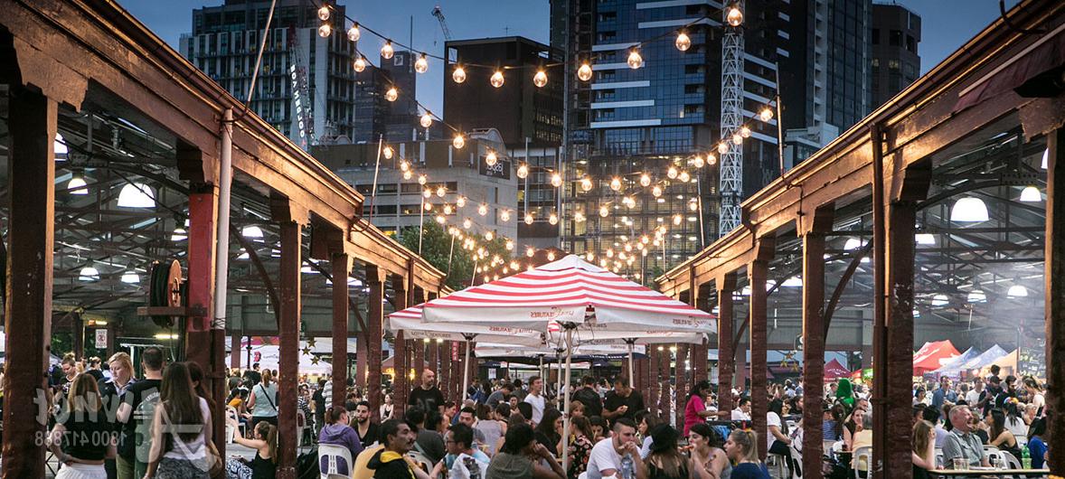 Commercial Market & Cafe Umbrellas For Sale Melbourne & Sydney Inside 2018 Launceston Market Umbrellas (View 6 of 25)