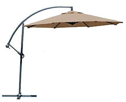 [%Coolaroo 339968, Freestanding Patio, 90% Uv Block, Round Two Position Tilt,  Mocha 10' Cantilever, Adjustable, Shade Umbrella With Favorite Coolaroo Cantilever Umbrellas|Coolaroo Cantilever Umbrellas With Regard To Recent Coolaroo 339968, Freestanding Patio, 90% Uv Block, Round Two Position Tilt,  Mocha 10' Cantilever, Adjustable, Shade Umbrella|Most Popular Coolaroo Cantilever Umbrellas In Coolaroo 339968, Freestanding Patio, 90% Uv Block, Round Two Position Tilt,  Mocha 10' Cantilever, Adjustable, Shade Umbrella|Most Current Coolaroo 339968, Freestanding Patio, 90% Uv Block, Round Two Position Tilt,  Mocha 10' Cantilever, Adjustable, Shade Umbrella Inside Coolaroo Cantilever Umbrellas%] (View 2 of 25)