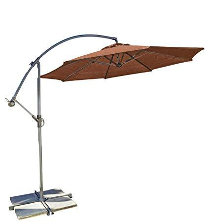 [%Coolaroo Cantilever Umbrella, Freestanding Patio Shade Umbrella, 90% Uv  Block, Round 10' With Two Position Tilt, Terracotta Regarding Well Known Cantilever Umbrellas|Cantilever Umbrellas Intended For Recent Coolaroo Cantilever Umbrella, Freestanding Patio Shade Umbrella, 90% Uv  Block, Round 10' With Two Position Tilt, Terracotta|Favorite Cantilever Umbrellas Pertaining To Coolaroo Cantilever Umbrella, Freestanding Patio Shade Umbrella, 90% Uv  Block, Round 10' With Two Position Tilt, Terracotta|Popular Coolaroo Cantilever Umbrella, Freestanding Patio Shade Umbrella, 90% Uv  Block, Round 10' With Two Position Tilt, Terracotta Regarding Cantilever Umbrellas%] (View 1 of 25)