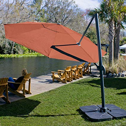 [%Coolaroo Cantilever Umbrella, Freestanding Patio Shade Umbrella, 90% Uv  Block, Round 12', Terracotta Regarding Well Known Coolaroo Cantilever Umbrellas|Coolaroo Cantilever Umbrellas Pertaining To Well Known Coolaroo Cantilever Umbrella, Freestanding Patio Shade Umbrella, 90% Uv  Block, Round 12', Terracotta|Most Recent Coolaroo Cantilever Umbrellas Regarding Coolaroo Cantilever Umbrella, Freestanding Patio Shade Umbrella, 90% Uv  Block, Round 12', Terracotta|Best And Newest Coolaroo Cantilever Umbrella, Freestanding Patio Shade Umbrella, 90% Uv  Block, Round 12', Terracotta With Regard To Coolaroo Cantilever Umbrellas%] (View 10 of 25)