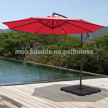 Coolaroo Cantilever Umbrellas For Recent Multiple Colors Outdoor Living Coolaroo 10 ' Round Metal Cantilever  Umbrella – Buy Cantilever Umbrella,outdoor Living Umbrella,10 ' Round  Umbrella (View 22 of 25)
