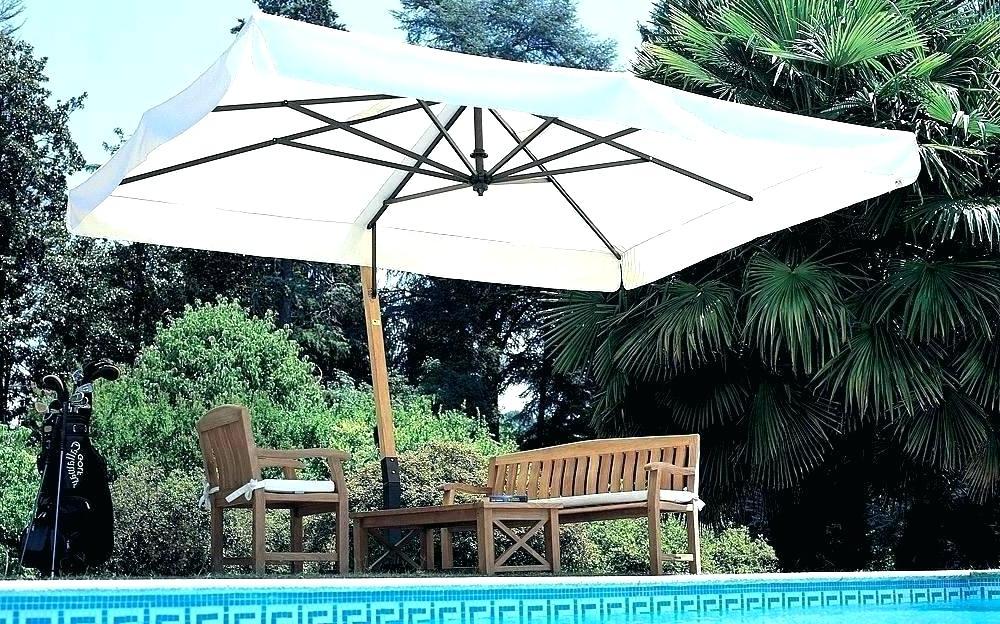 Cora Square Cantilever Umbrellas In Newest Excellent Square Offset Patio Umbrella Amusing Outdoor Carpet (View 3 of 25)