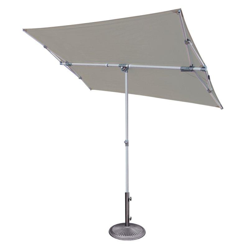 Cordelia 5' X 7' Rectangular Market Umbrella Inside Widely Used Bonita Rectangular Market Umbrellas (View 11 of 25)