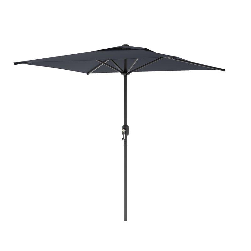 Cordelia Rectangular Market Umbrellas Inside Fashionable Crowborough 9' Square Market Umbrella (View 7 of 25)