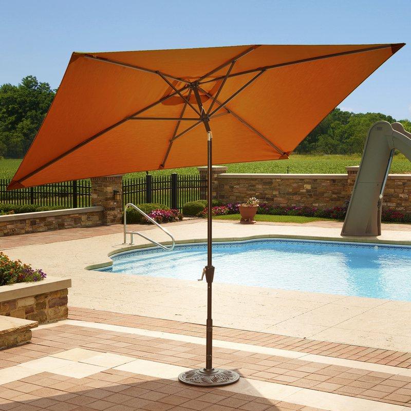 Cordelia Rectangular Market Umbrellas With Regard To Preferred Bonview 10' X  (View 11 of 25)