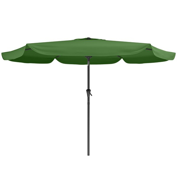 Corliving – Tilt G Patio Umbrella – Forest Green Ppu 270 U – Rona In With Trendy Iyanna Market Umbrellas (View 6 of 25)