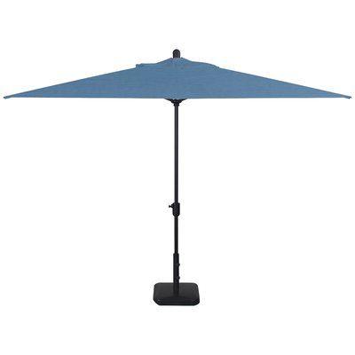 Crate And Barrel Regarding Alexander Elastic Rectangular Market Sunbrella Umbrellas (View 5 of 25)