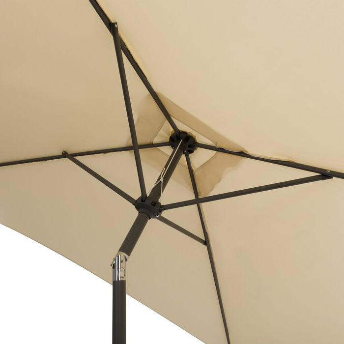 Crowborough 9' Square Market Umbrella Throughout Well Known Crowborough Square Market Umbrellas (View 11 of 25)