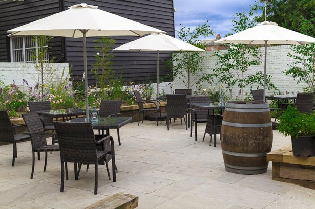 Current 13 Kent Restaurants With Incredible Spaces For Al Fresco Dining In Folkeste Market Umbrellas (View 22 of 25)