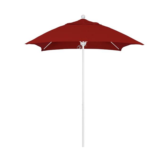 Current Caravelle 6' Square Market Sunbrella Umbrella With Regard To Caravelle Square Market Sunbrella Umbrellas (View 6 of 25)