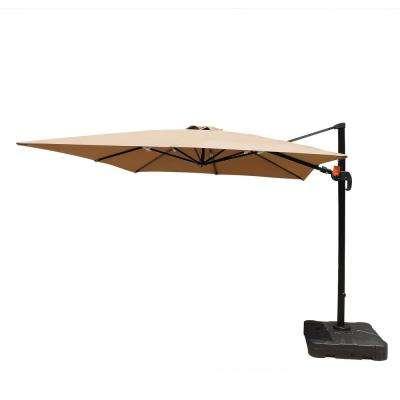 Current Fazeley  Rectangular Cantilever Umbrellas With Santorini Ii 10 Ft (View 23 of 25)