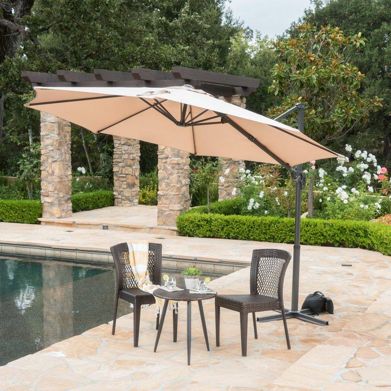 Featured Photo of Jaelynn Cantilever Umbrellas