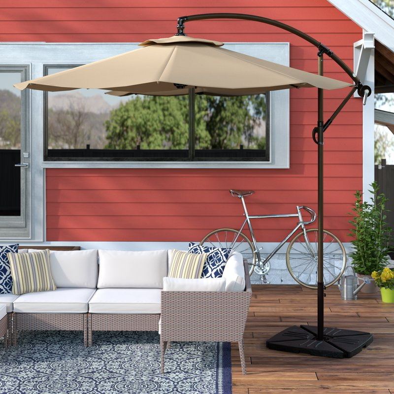 Current Karr 10' Cantilever Umbrella With Karr Cantilever Umbrellas (View 10 of 25)