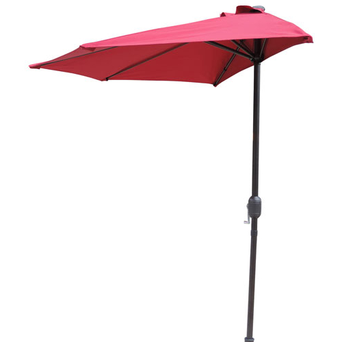 Current Muldoon Market Umbrellas Regarding Patio Umbrellas: Stands, Offset & More (View 18 of 25)