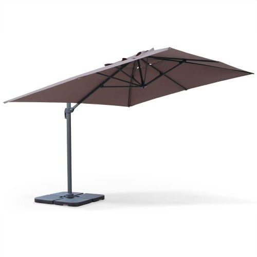 Current Saint Jean De Luz 3X4M Aluminium Cantilever Outdoor Umbrella (View 16 of 25)