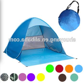 Current Wholesale Automatic Pop Up Tent / Beach Umbrella Folding Beach Tent / Beach  Tent Sun Shelter – Buy Beach Tent,cheap Pop Up Beach Tent,sun Shelter With Sun Shelter Beach Umbrellas (View 10 of 25)