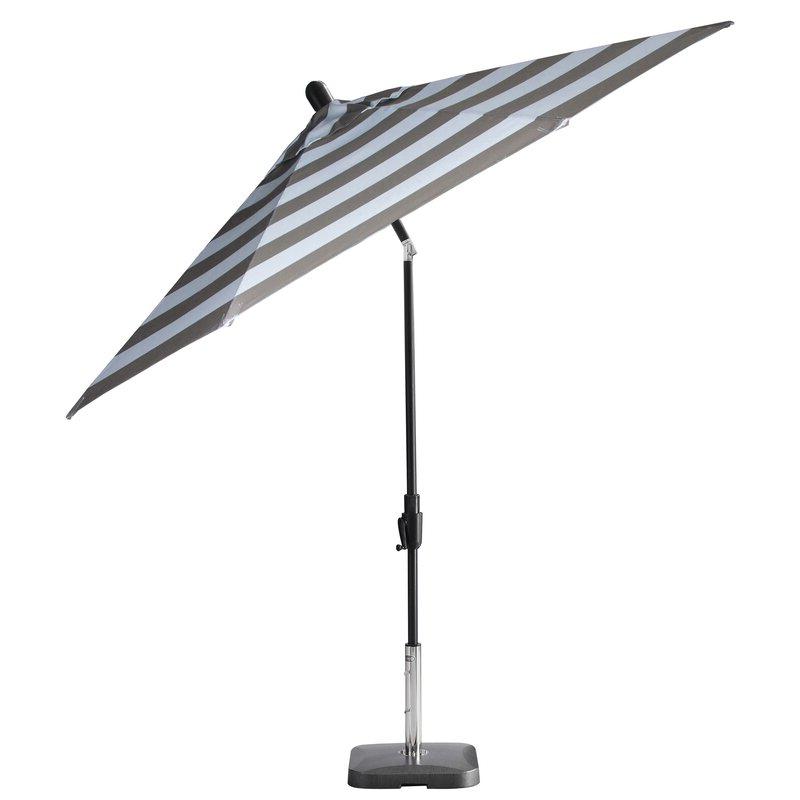 Current Wiebe Auto Tilt Square Market Sunbrella Umbrellas For Wiebe Auto Tilt 9' Market Sunbrella Umbrella (View 7 of 25)