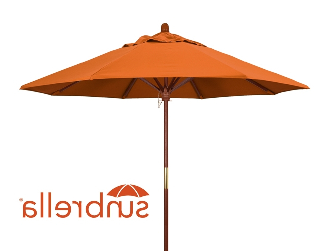 Current Wiebe Auto Tilt Square Market Sunbrella Umbrellas With Outdoor Patio Umbrellas Ultra Durable (View 25 of 25)