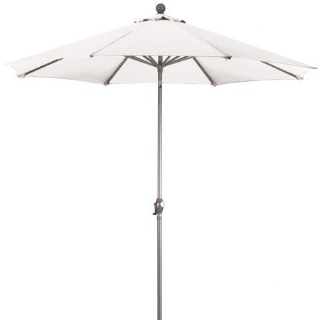 Cynthia Umbrella In White – The Outdoor Abode On Joss & Main Enjoy With Regard To 2018 Phat Tommy Cantilever Umbrellas (View 14 of 25)