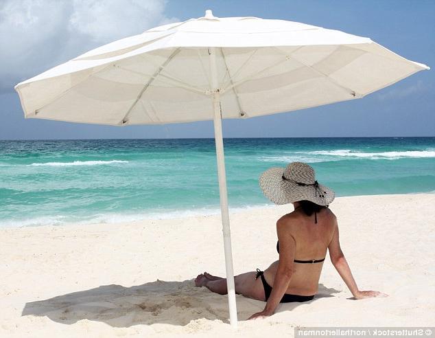 Daily Mail Online Inside Schroeder Heavy Duty Beach Umbrellas (View 3 of 25)