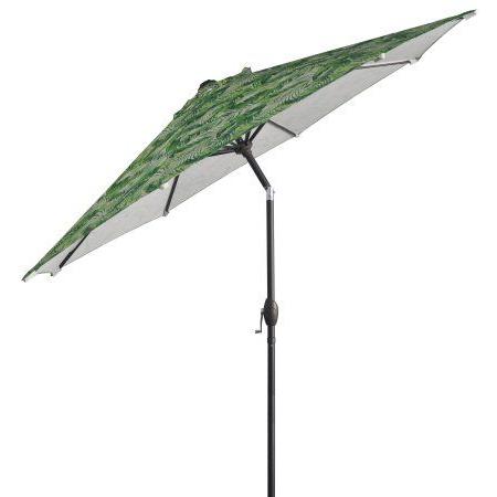 Darwen Tiltable Patio Stripe Market Umbrellas Throughout 2018 Mainstays 9 Ft (View 6 of 25)