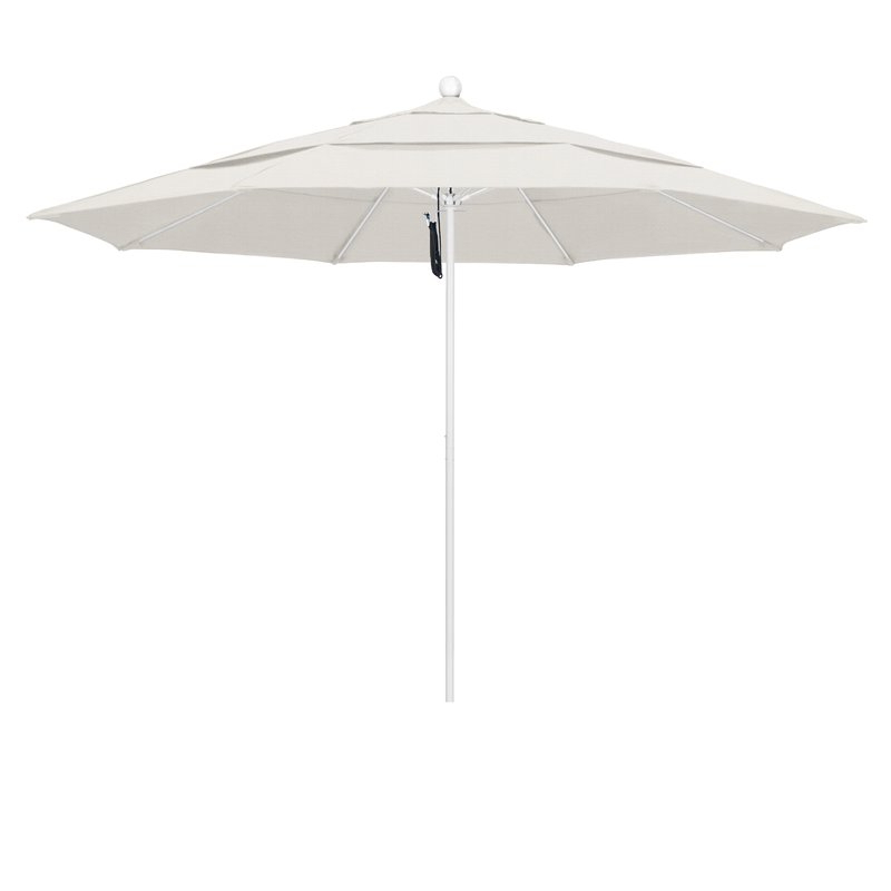 Davenport 11' Market Umbrella inside Famous Launceston Rectangular Market Umbrellas