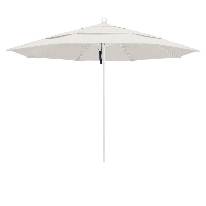 Davenport 11' Market Umbrella Inside Famous Launceston Rectangular Market Umbrellas (Gallery 19 of 25)