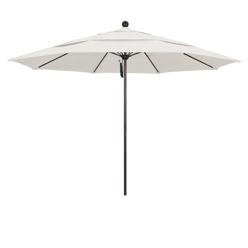 Davenport 11' Market Umbrella Regarding Favorite Launceston Rectangular Market Umbrellas (View 13 of 25)