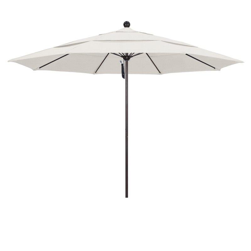 Davenport 11' Market Umbrella Regarding Favorite Launceston Rectangular Market Umbrellas (Gallery 13 of 25)