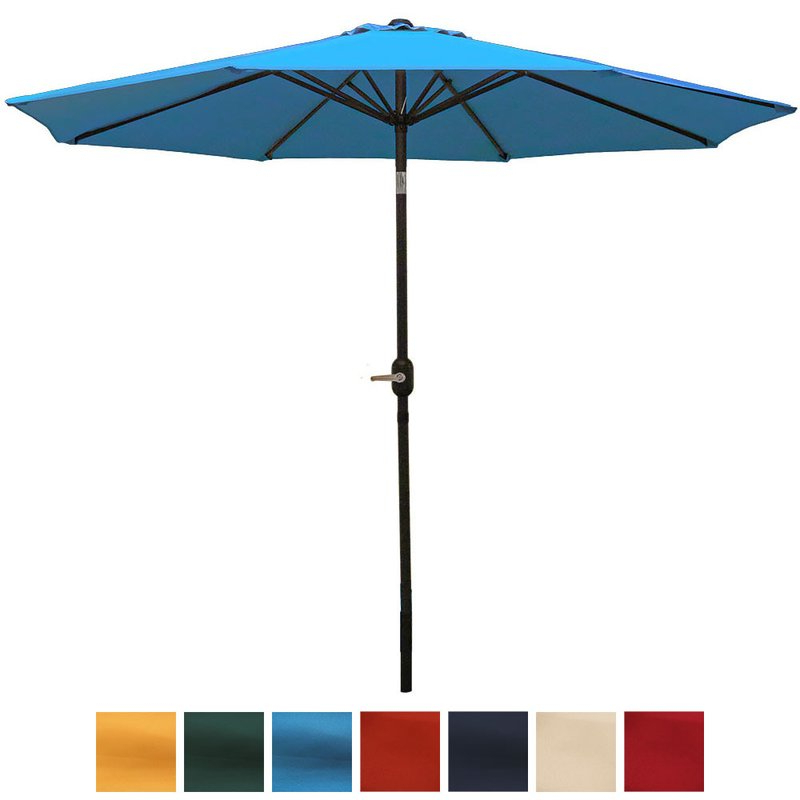 Delaplaine 9' Market Umbrella For Fashionable Delaplaine Market Umbrellas (Gallery 2 of 25)