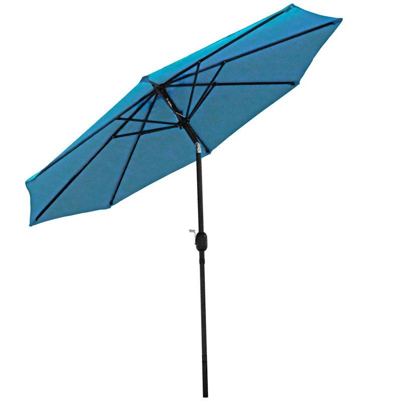 Delaplaine Market Umbrellas Regarding 2018 Delaplaine 9' Market Umbrella (Gallery 4 of 25)