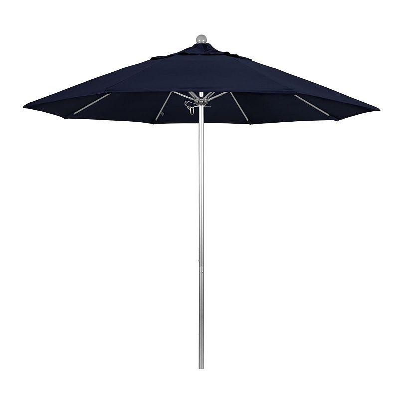 Dena Rectangular Market Umbrellas For Preferred California Umbrella 9' Venture Series Solid Olefin Patio Umbrella (Gallery 17 of 25)