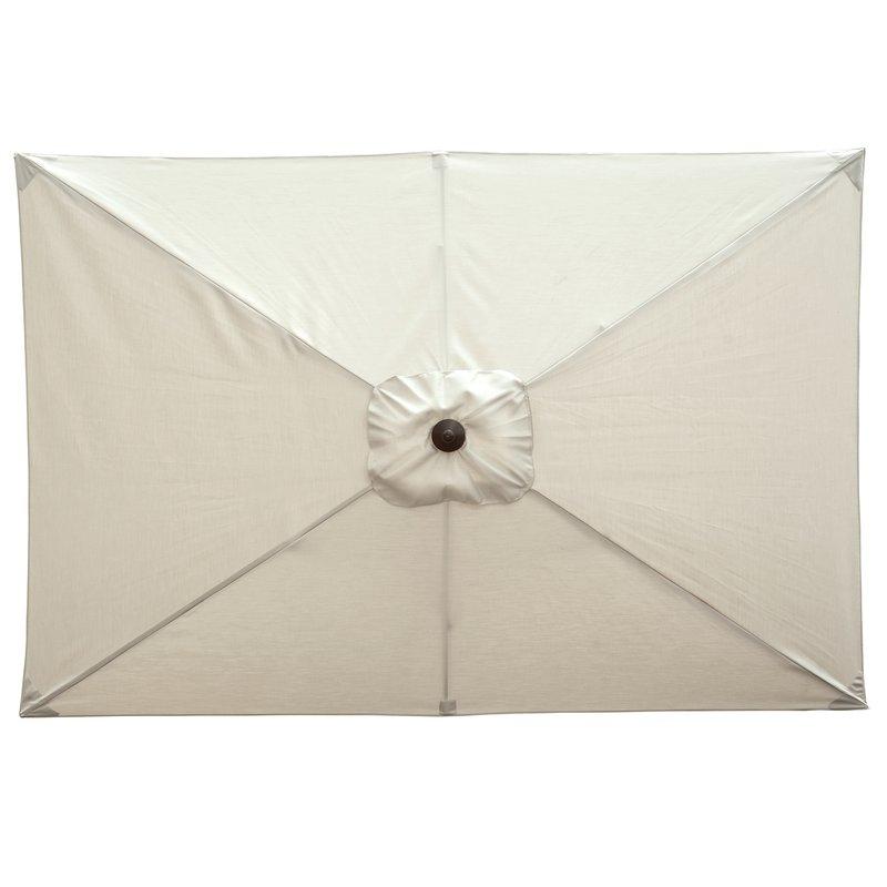 Dena Rectangular Market Umbrellas pertaining to Popular Dena 10' X 6.5' Rectangular Market Umbrella