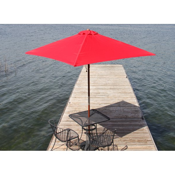 Destination Gear 6.5' Square Market Umbrella with Fashionable Destination Gear Square Market Umbrellas