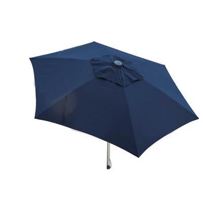 Destinationgear Classic Wood 6.5 Ft. Square Patio Umbrella In Black throughout Trendy Destination Gear Square Market Umbrellas