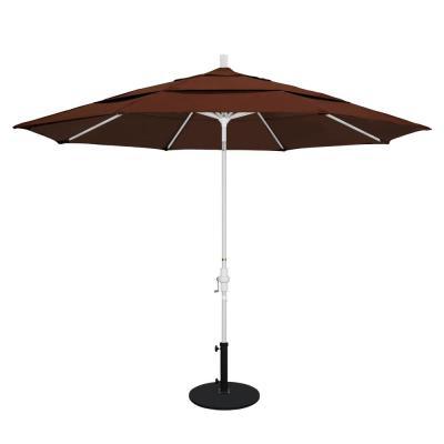 Destinationgear Palapa 6 Ft. Aluminum Tilt Patio Umbrella In Brown For Favorite Madalyn Rectangular Market Sunbrella Umbrellas (Gallery 6 of 25)