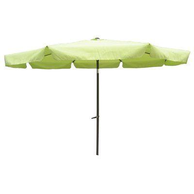 Devansh Market Umbrellas in Famous International Caravan St. Kitts 8 Ft. Patio Umbrella (Terra Cotta