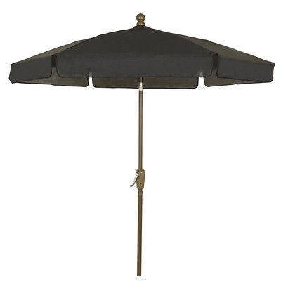 Devansh Market Umbrellas with regard to Most Recently Released Fiberbuilt 7.5' Leonard Home Garden Tilt Hexagonal Drape Umbrella F