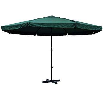 Drape Umbrellas In Popular Amazon : Sundale Outdoor 16 Ft Aluminum Patio Umbrella Table (View 8 of 25)