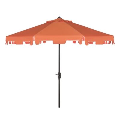 Drape Umbrellas with regard to Well-liked Safavieh Zimmerman 9-Ft Drape Umbrella With Crank And Tilt