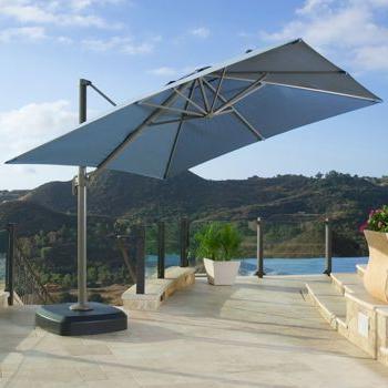 Dream Pertaining To Spitler Square Cantilever Umbrellas (Gallery 13 of 25)