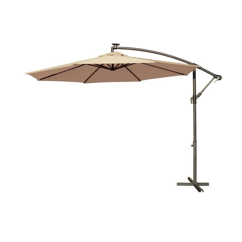 Dunwich 10' Cantilever Umbrella With Regard To Latest Yajaira Cantilever Umbrellas (View 1 of 25)