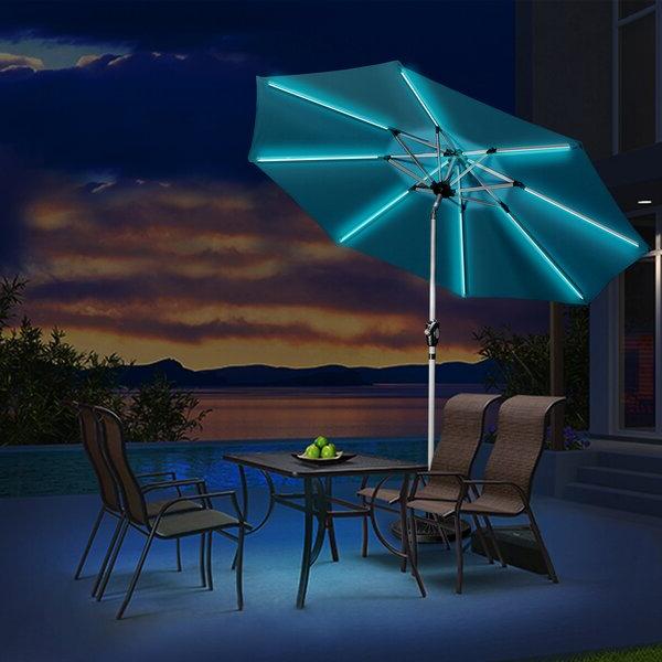 Eastwood Market Umbrellas With Regard To Latest Hawkinge 9' Market Umbrella (View 10 of 25)