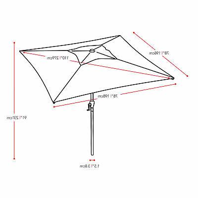 Ebay With Regard To Well Known Crowborough Market Umbrellas (View 10 of 25)