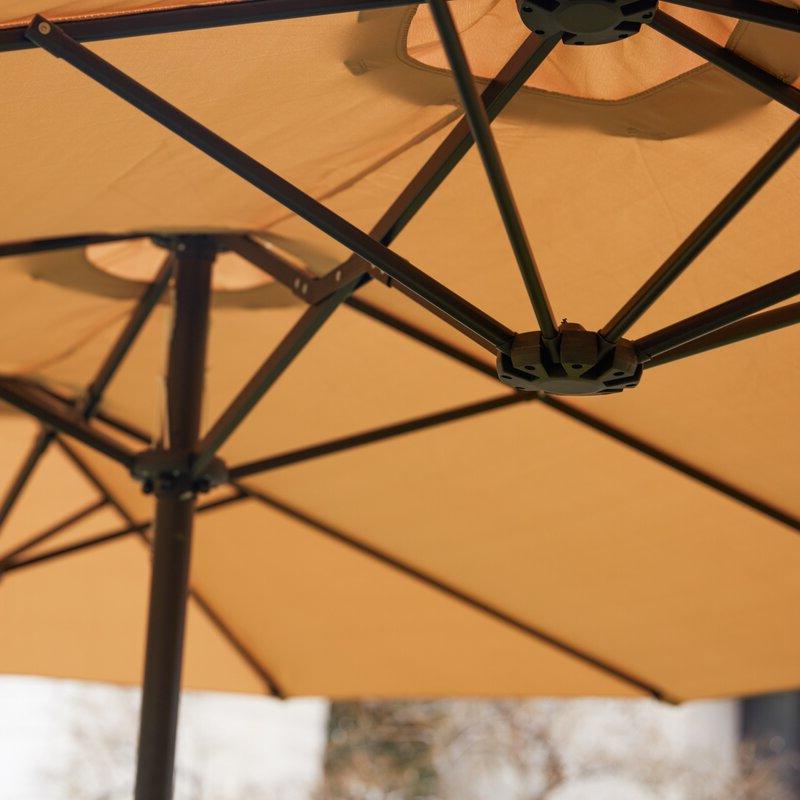 Eisele 9' W X 15' D Rectangular Market Umbrella For Most Recently Released Eisele Rectangular Market Umbrellas (Gallery 6 of 25)
