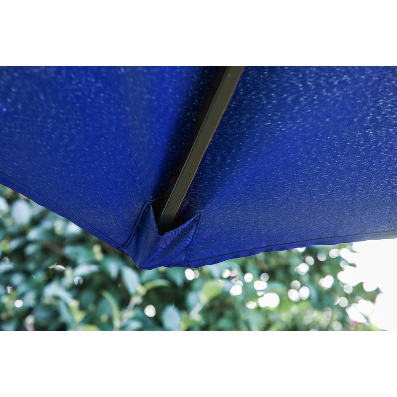 Eisele Rectangular Market Umbrellas In Most Popular Eisele 9' W X 15' D Rectangular Market Umbrella (View 9 of 25)